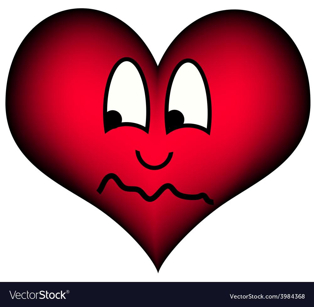 Heart suspicious vector   Price: 1 Credit (USD $1)