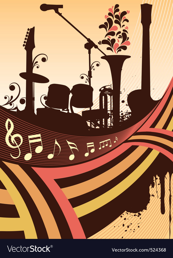 Instruments silhouette vector | Price: 1 Credit (USD $1)