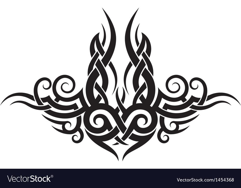 Maori tribal tattoo design vector | Price: 1 Credit (USD $1)
