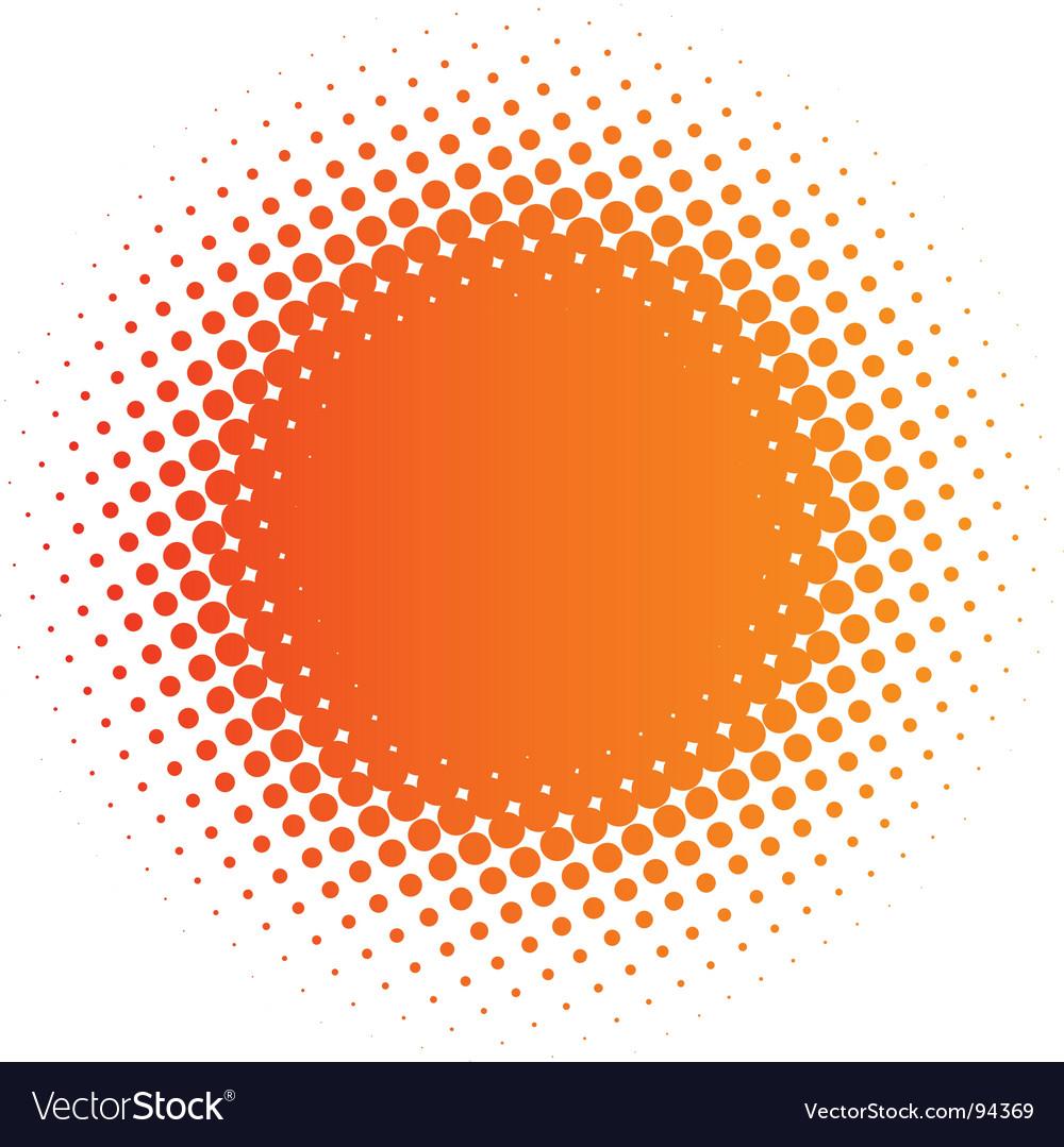 Spotted design element vector