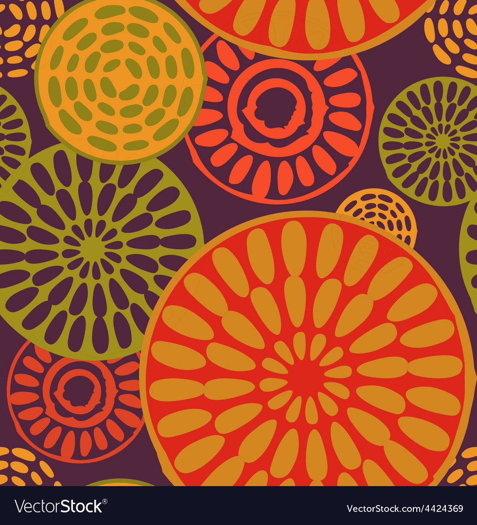Tribal african simple seamless pattern vector