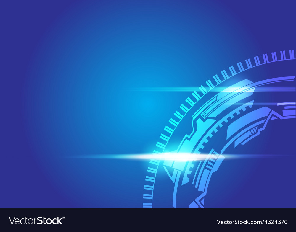 Abstract technology background vector | Price: 1 Credit (USD $1)