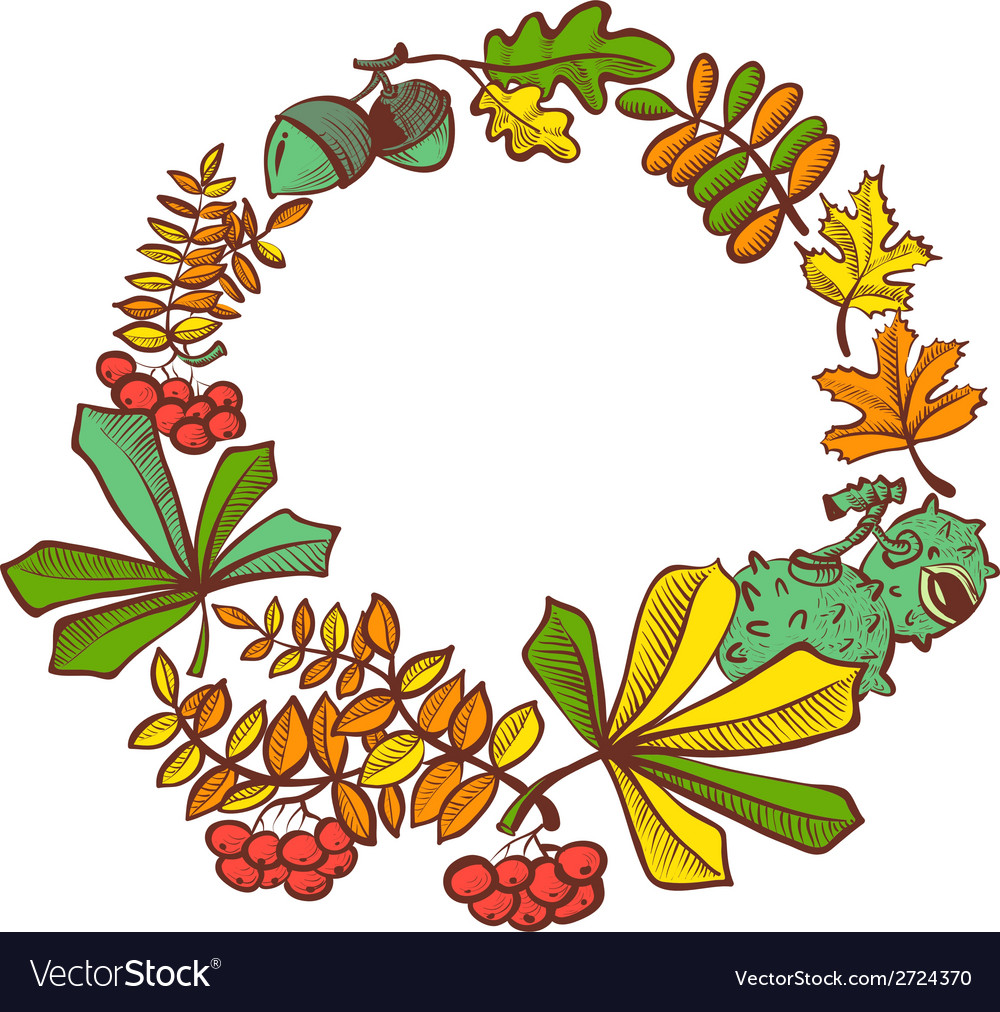Fall season vector | Price: 1 Credit (USD $1)