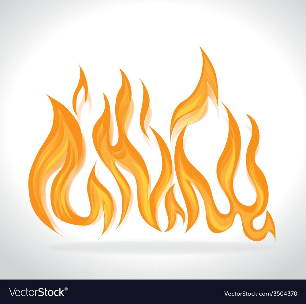 Fire design vector | Price: 1 Credit (USD $1)