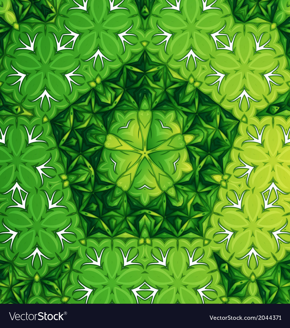 A green pattern vector | Price: 1 Credit (USD $1)
