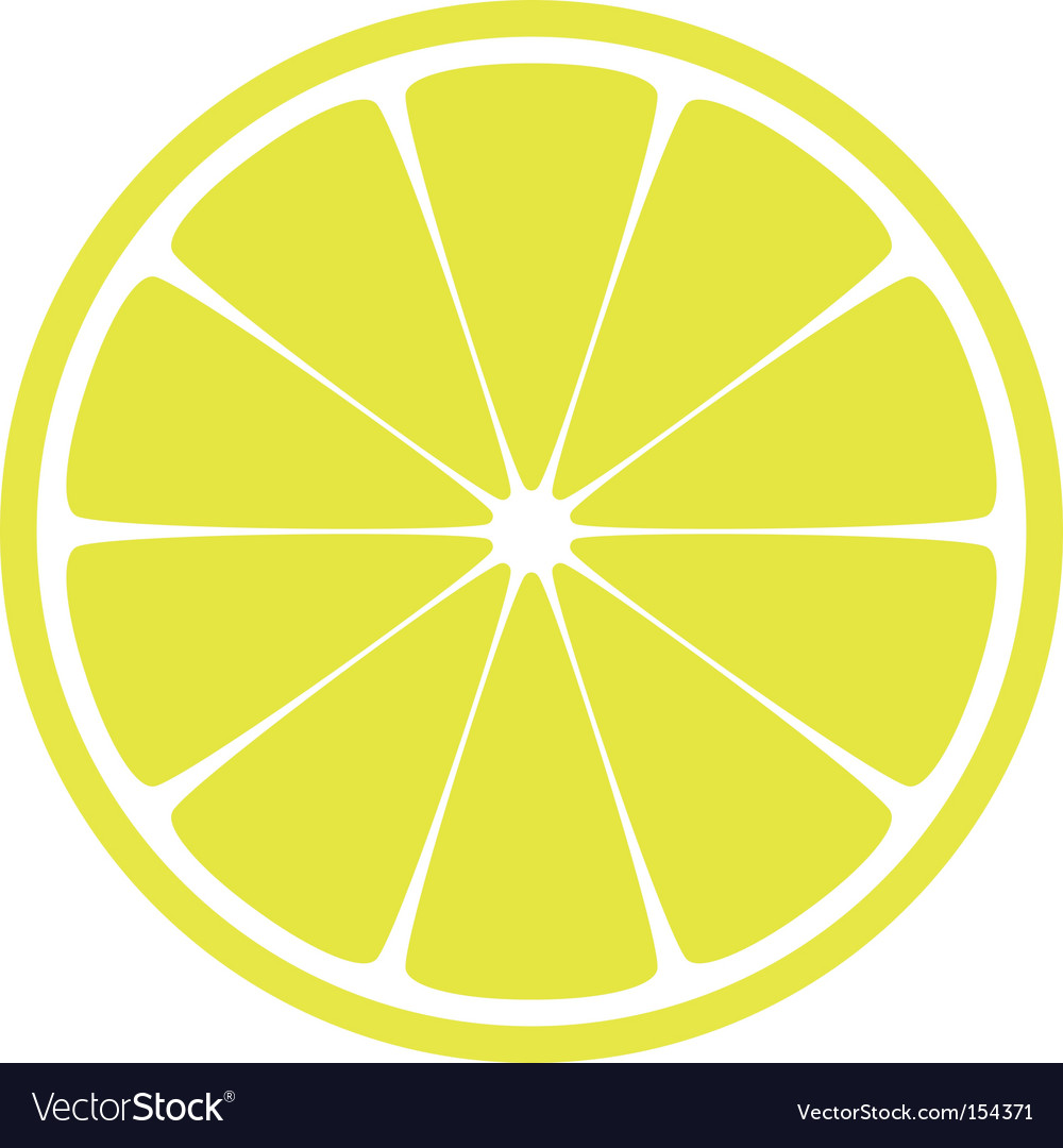 Lemon slice vector | Price: 1 Credit (USD $1)