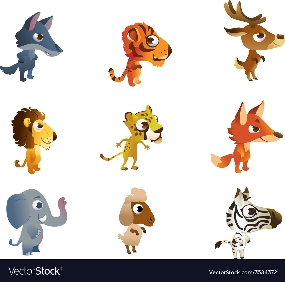 Collections of baby animals vector   Price: 1 Credit (USD $1)