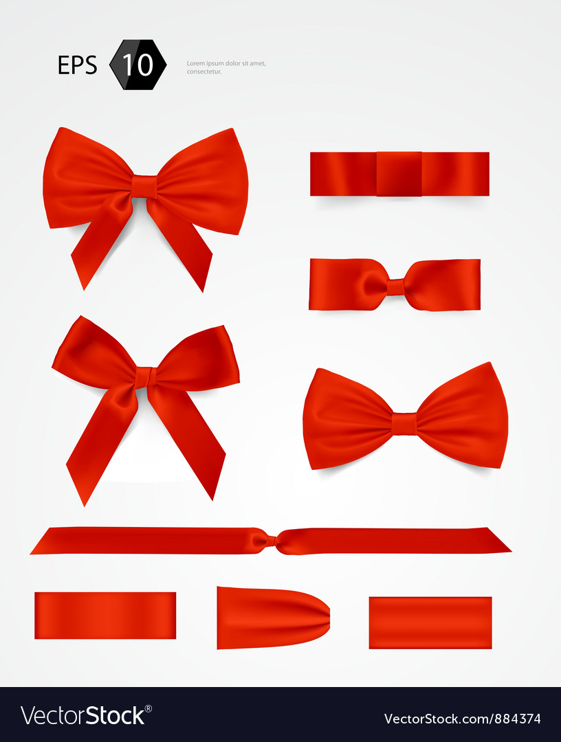 Bow collection vector | Price: 3 Credit (USD $3)