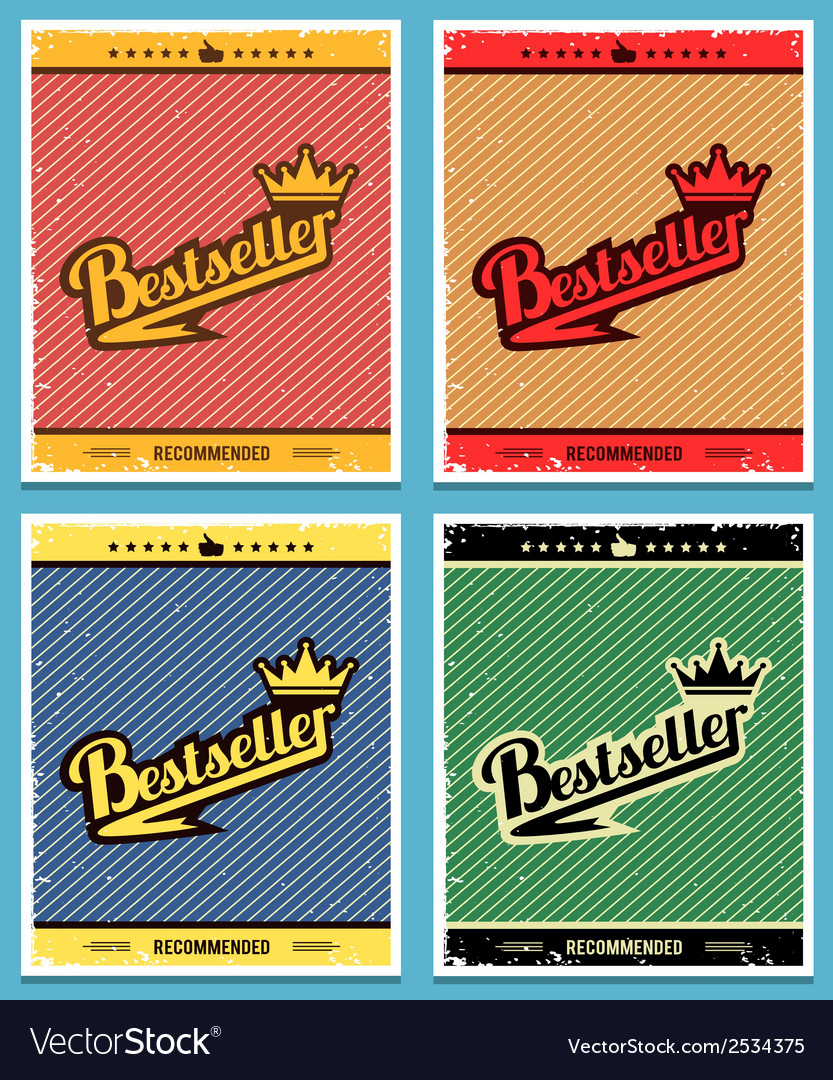 Best seller retro background vector | Price: 1 Credit (USD $1)
