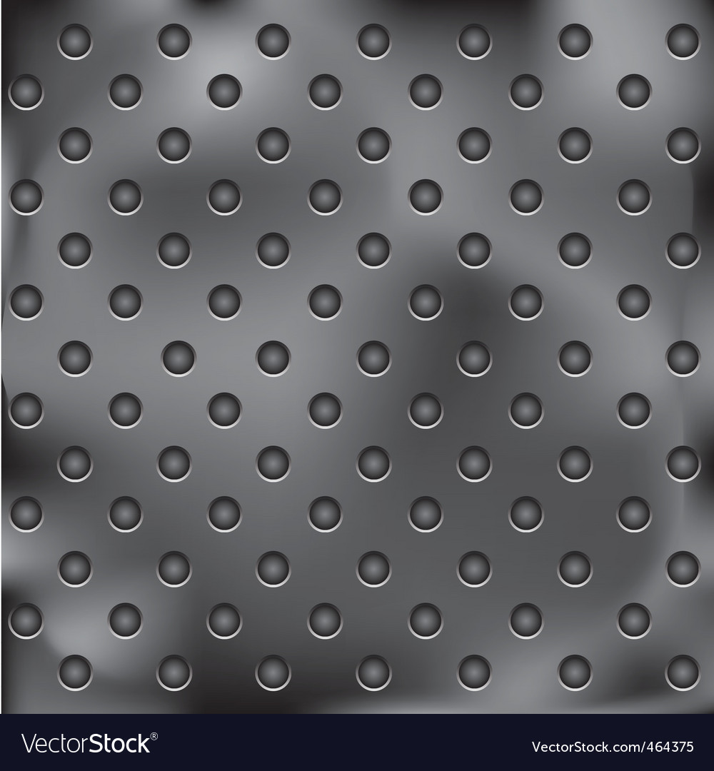 Metal plate with holes vector | Price: 1 Credit (USD $1)