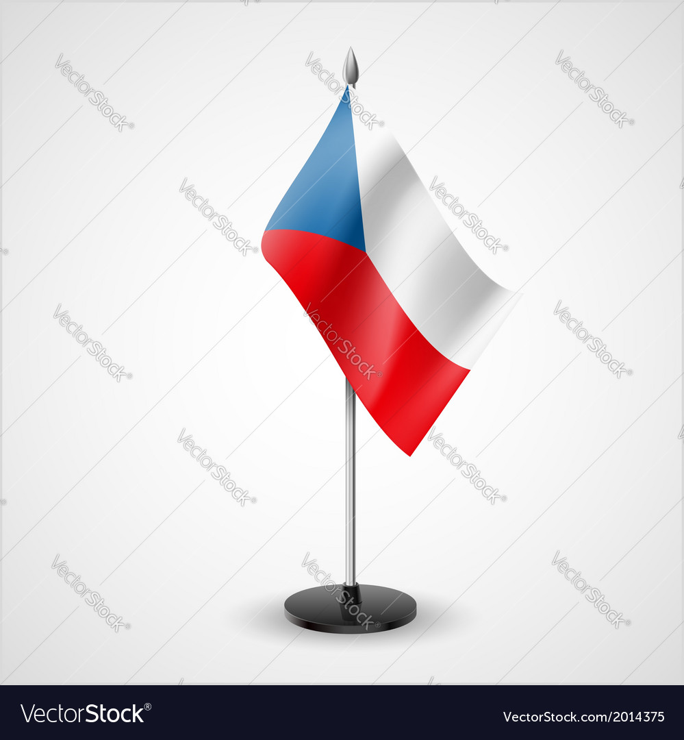 Table flag of czech republic vector | Price: 1 Credit (USD $1)