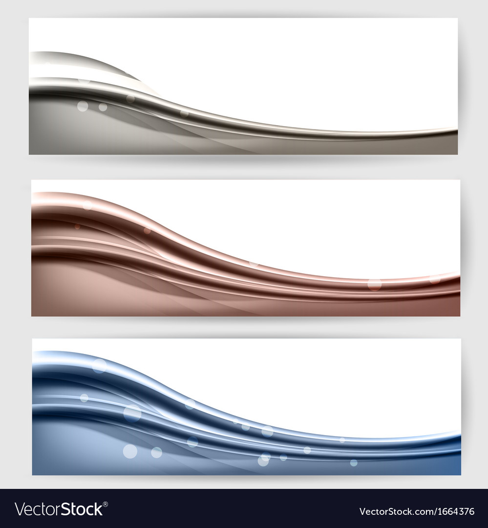 Abstract background with waves and lines vector   Price: 1 Credit (USD $1)
