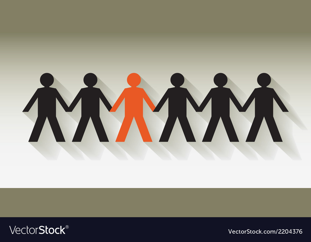 Human figures vector | Price: 1 Credit (USD $1)