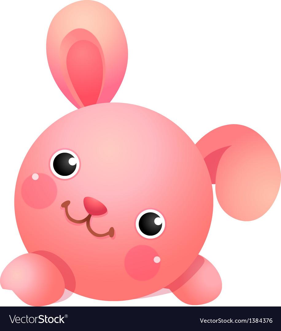 Icon rabbit vector | Price: 1 Credit (USD $1)