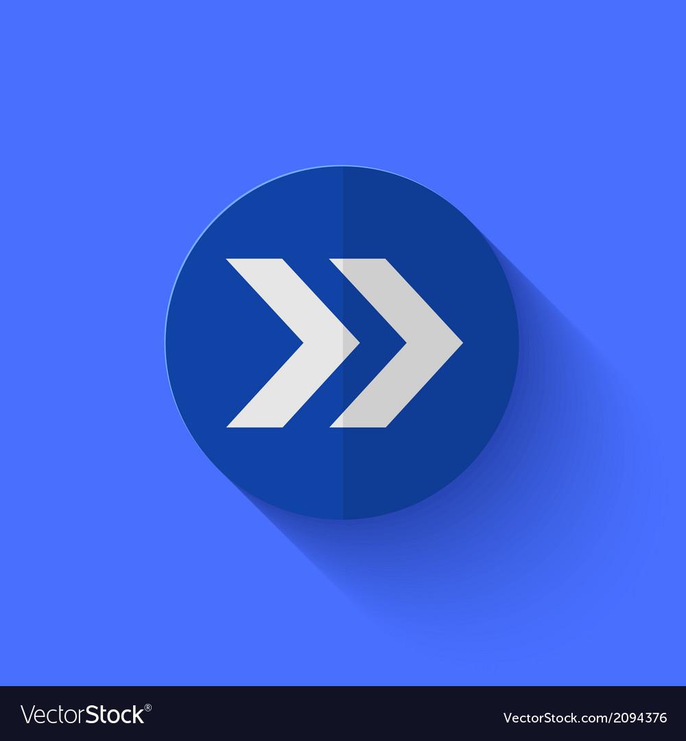 Modern flat blue circle icon vector   Price: 1 Credit (USD $1)