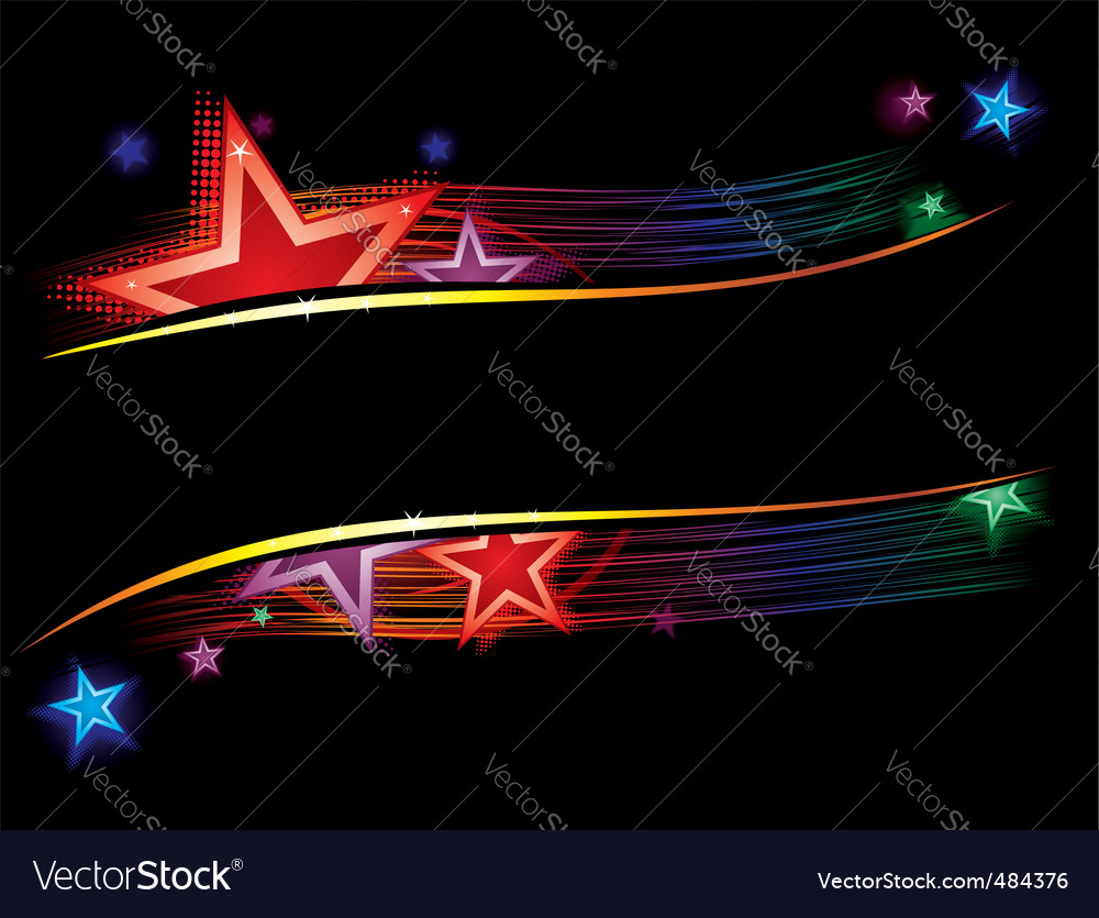 Stars in color vector | Price: 1 Credit (USD $1)