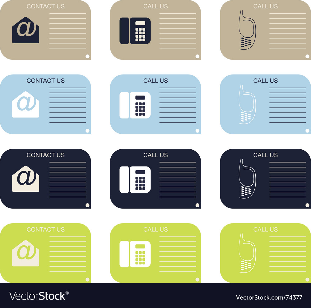 Contact us vector   Price: 1 Credit (USD $1)