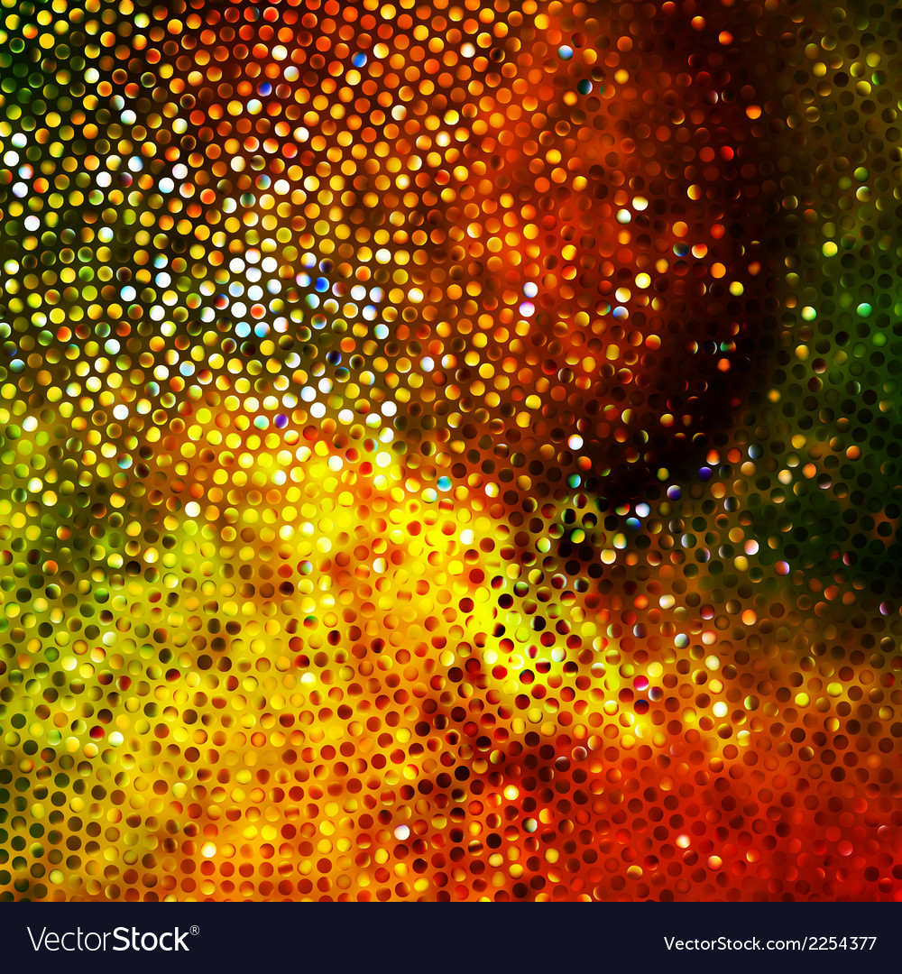 Glitters on a soft blurred background eps 10 vector | Price: 1 Credit (USD $1)