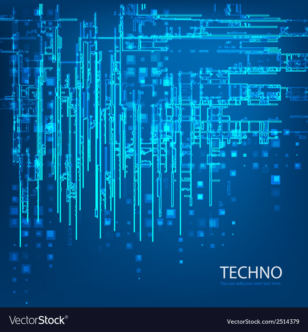 Techno 5 vector | Price: 1 Credit (USD $1)
