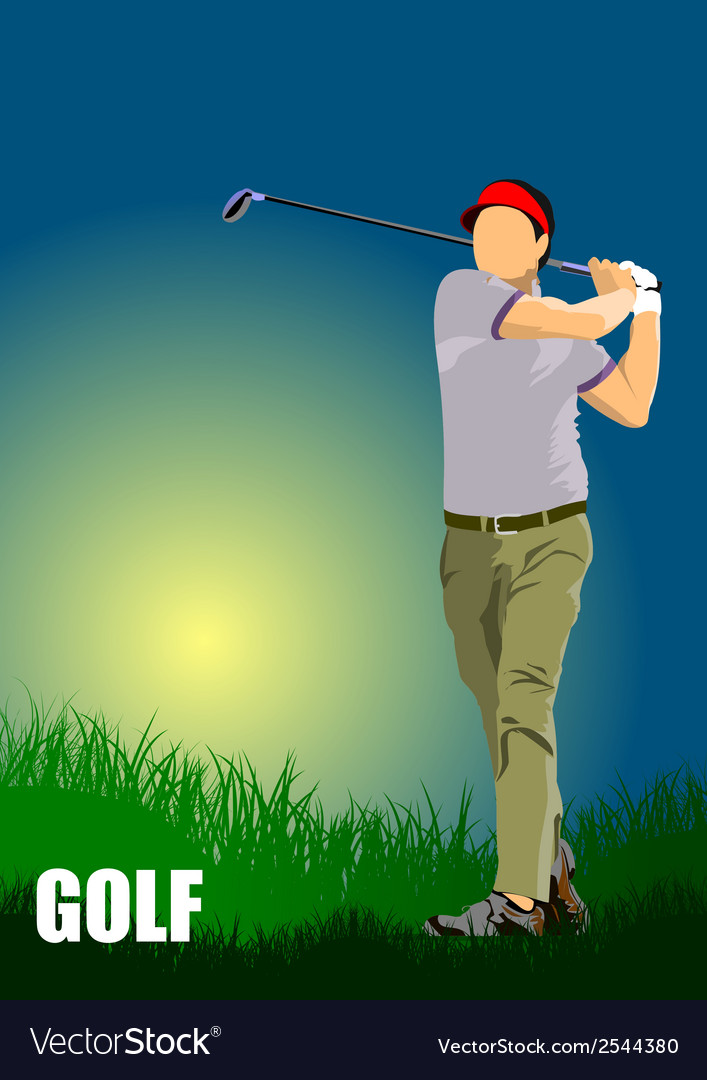 Al 1004 golf 01 vector | Price: 1 Credit (USD $1)
