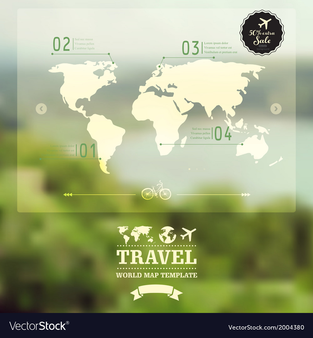 Blurred natural landscape map on blurry background vector | Price: 1 Credit (USD $1)