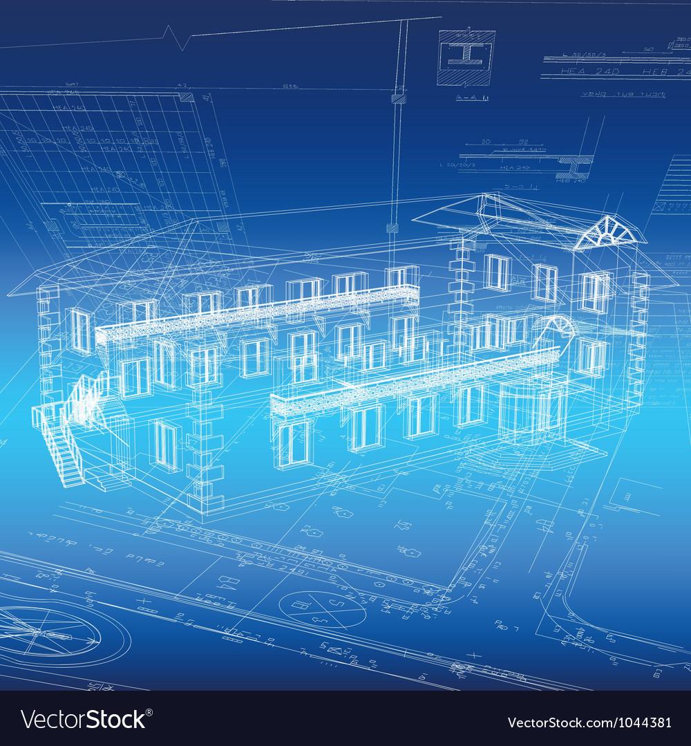 Architecture vector | Price: 1 Credit (USD $1)
