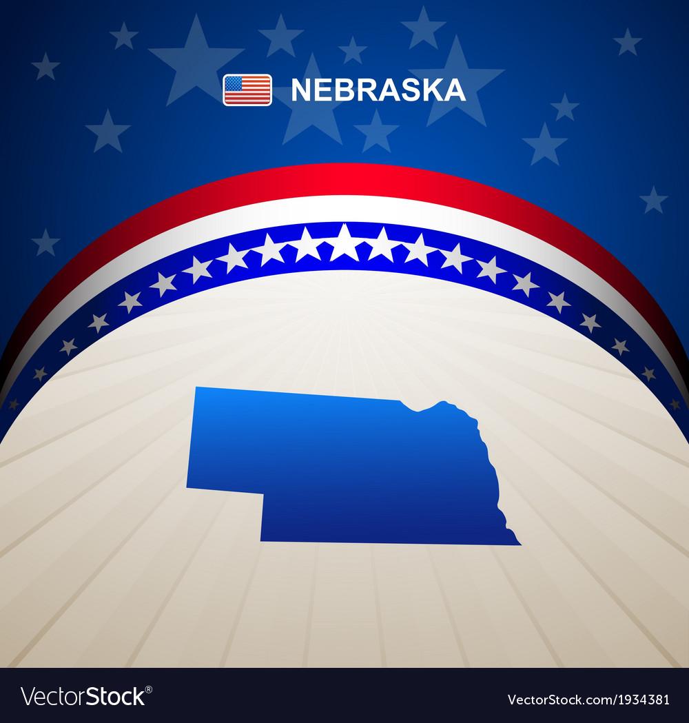 Nebraska vector | Price: 1 Credit (USD $1)