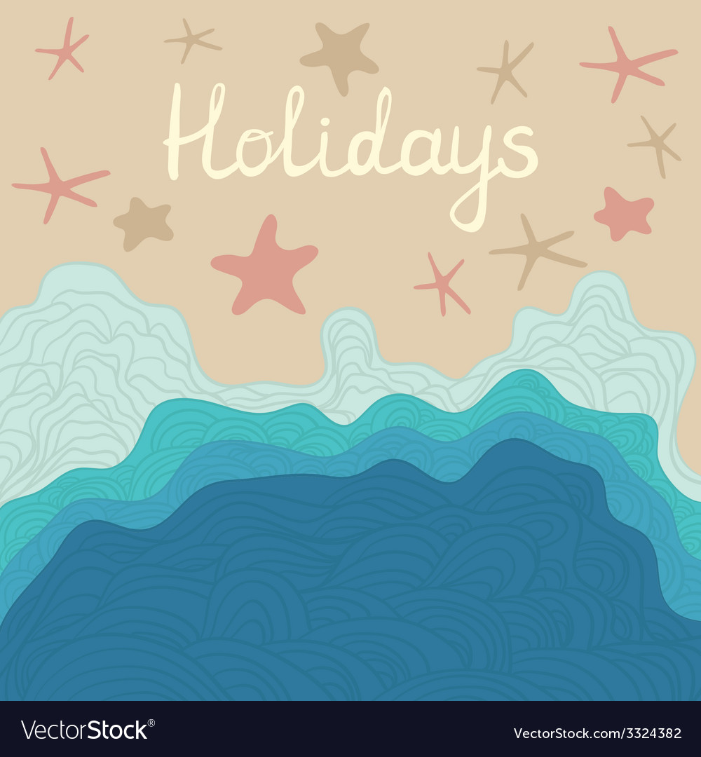 Beachholidays vector | Price: 1 Credit (USD $1)