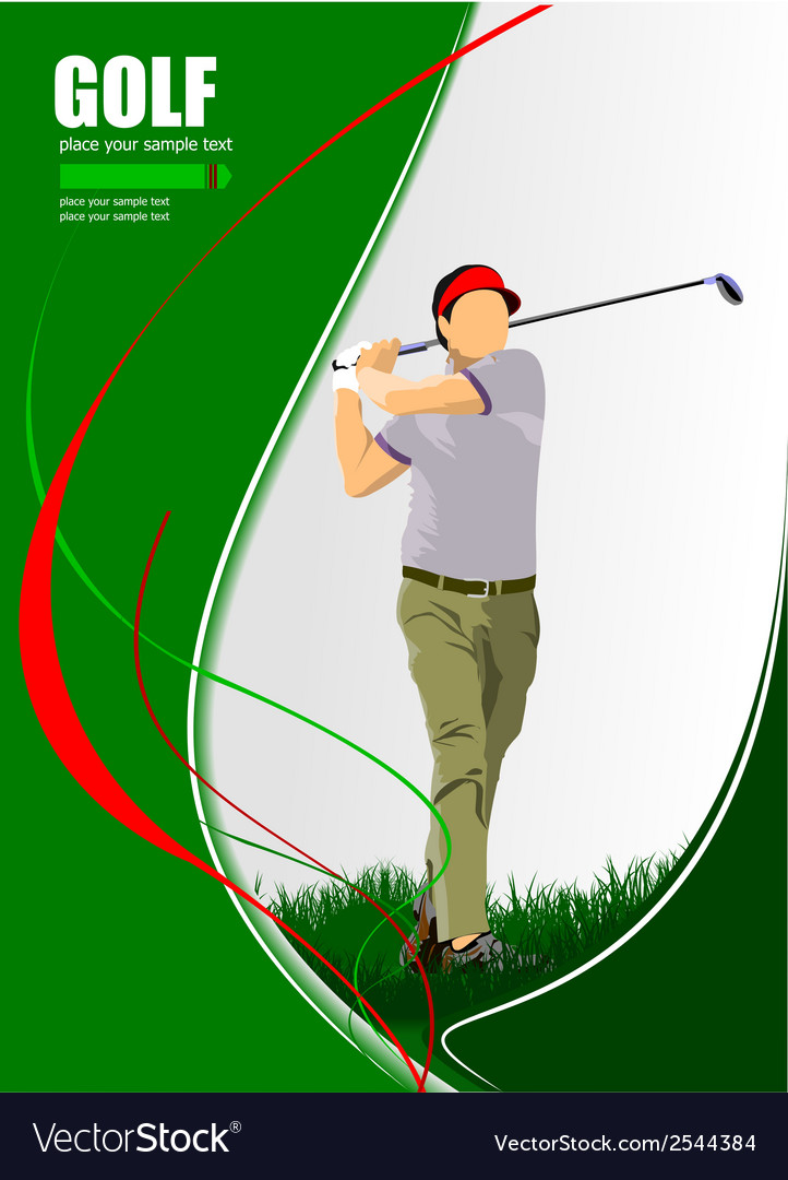 Al 1004 golf 03 vector | Price: 1 Credit (USD $1)