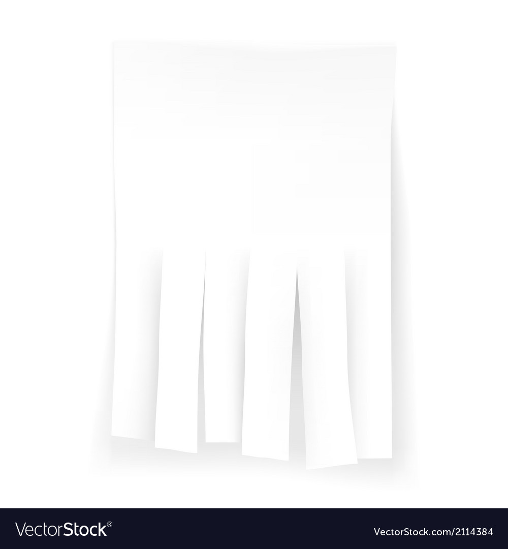 White blank ad vector | Price: 1 Credit (USD $1)