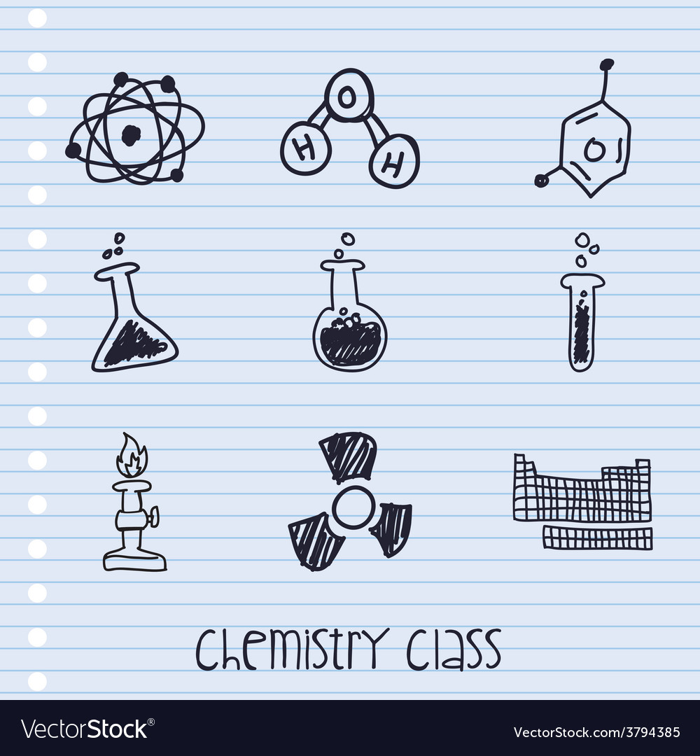 Chemistry class vector | Price: 1 Credit (USD $1)