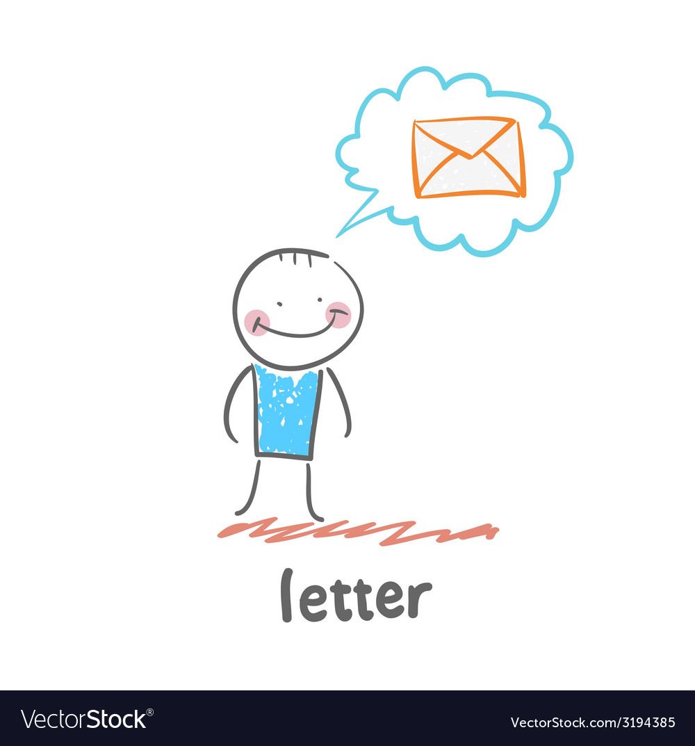 Letter vector | Price: 1 Credit (USD $1)