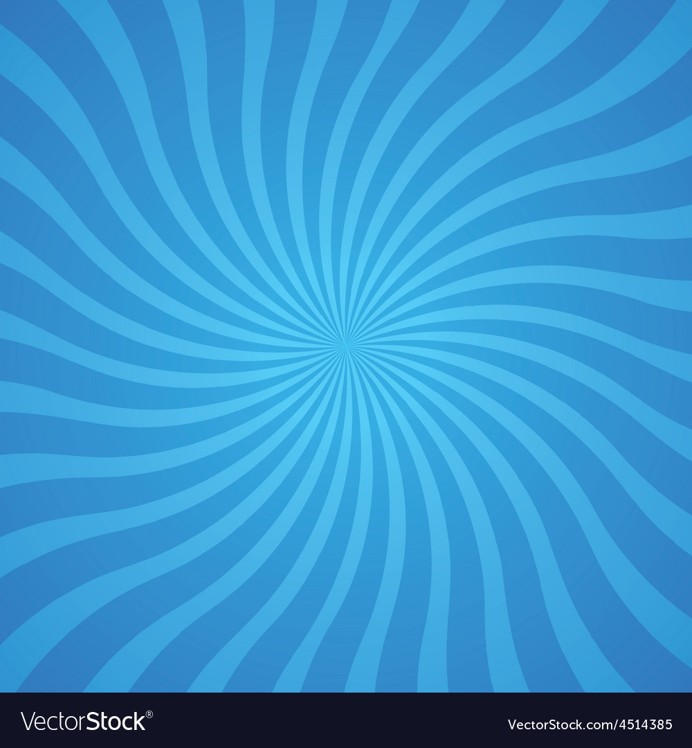 Popular blue color twist rotate ray background vector | Price: 1 Credit (USD $1)