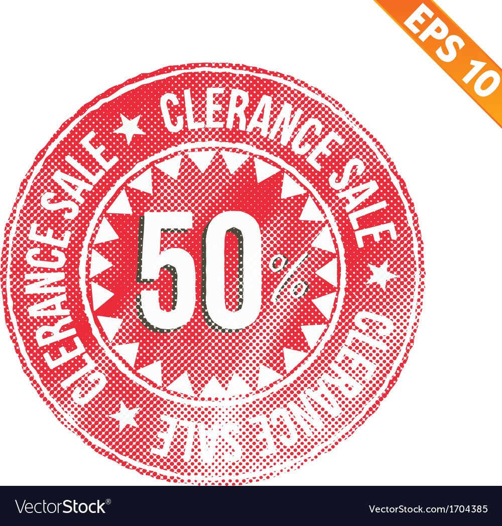 Rubber stamp sale tag - - eps10 vector   Price: 1 Credit (USD $1)