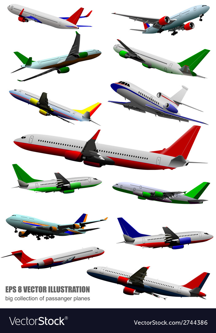 Al 0618 plane collection vector | Price: 1 Credit (USD $1)