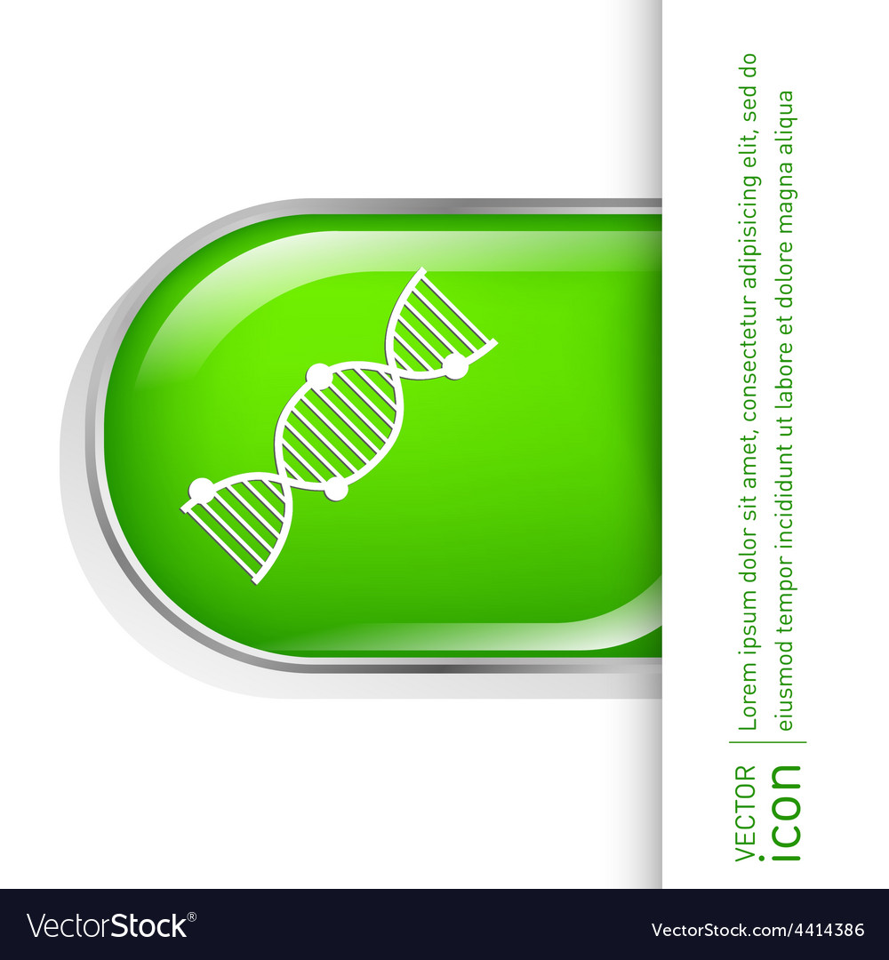 Dna helix medical research character vector | Price: 1 Credit (USD $1)