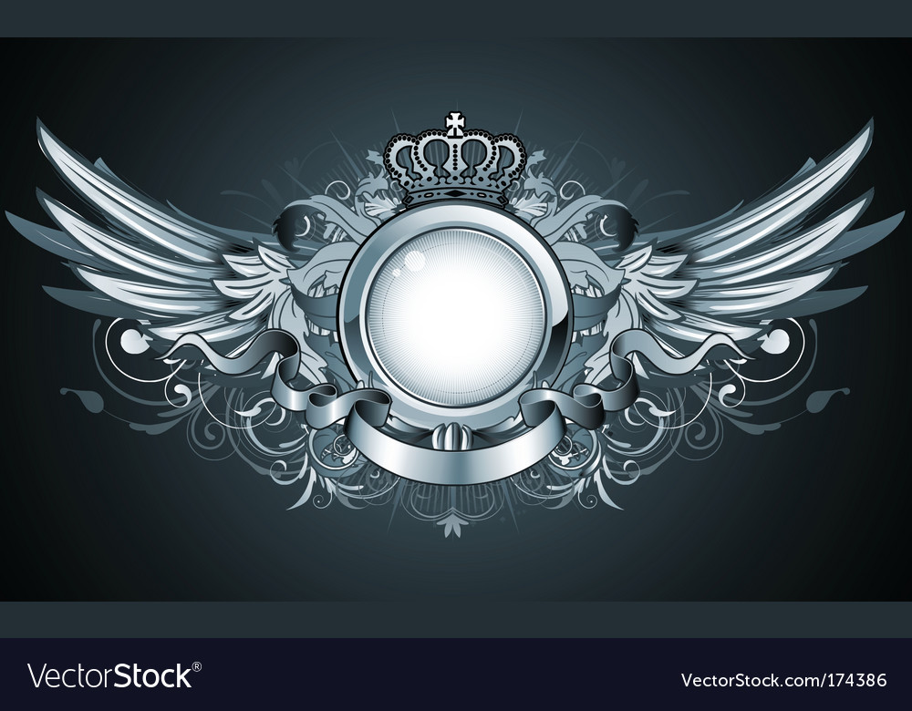 Heraldic frame vector | Price: 3 Credit (USD $3)