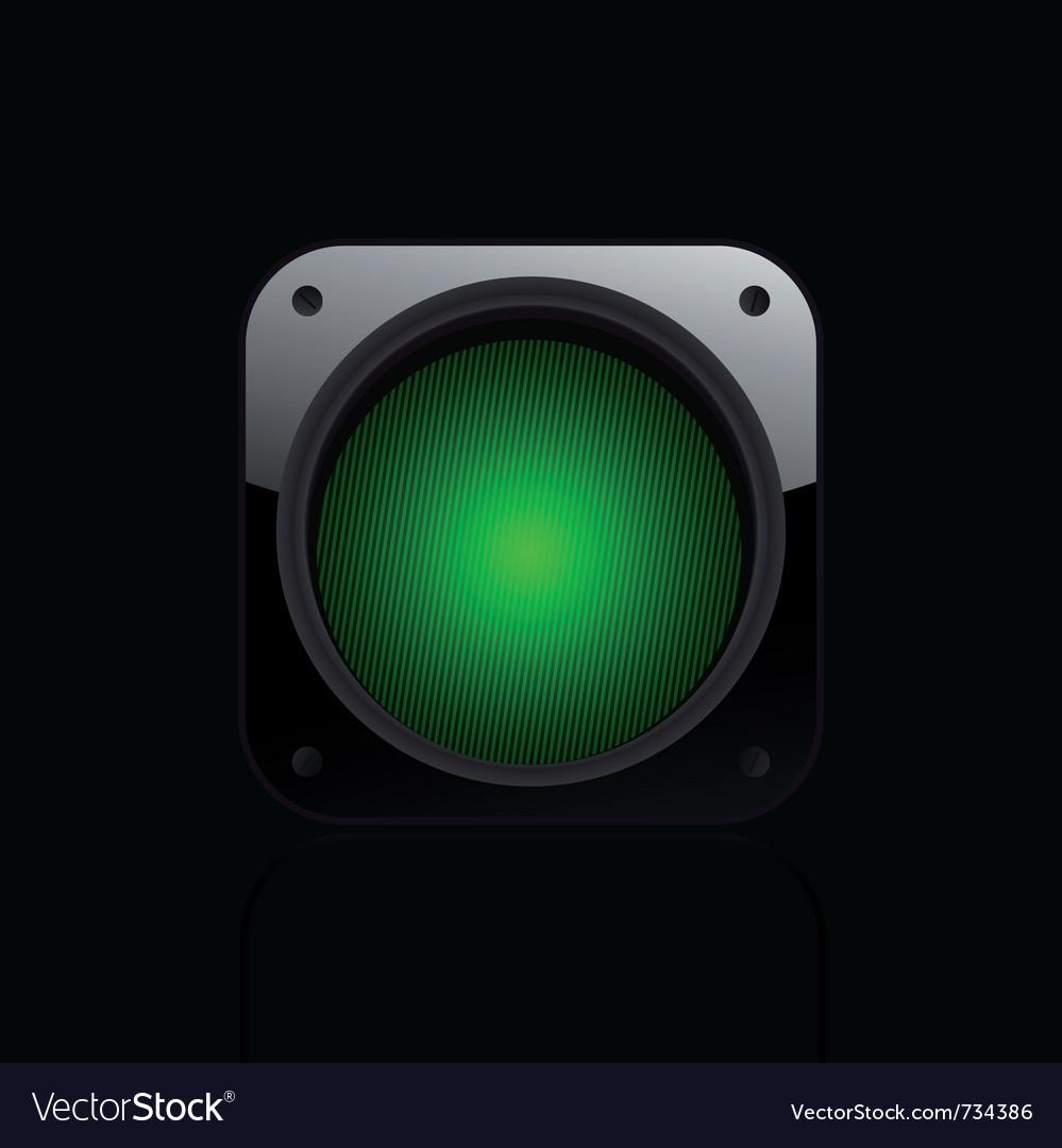 Traffic light icon vector   Price: 1 Credit (USD $1)