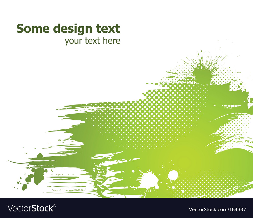 Abstract paint splash vector | Price: 1 Credit (USD $1)