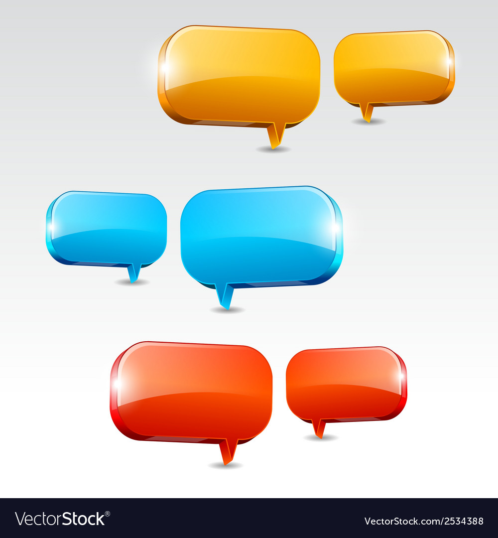 Dialog boxes vector | Price: 1 Credit (USD $1)