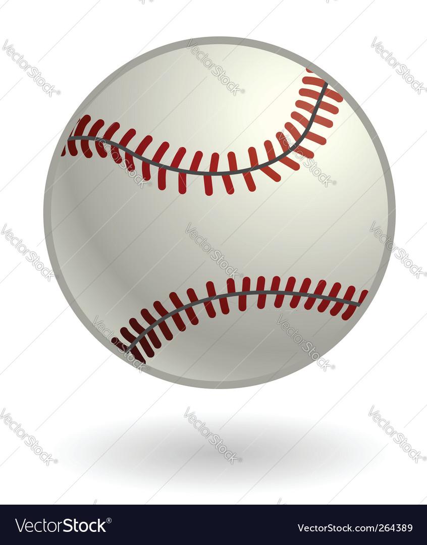 Baseball illustration vector | Price: 1 Credit (USD $1)