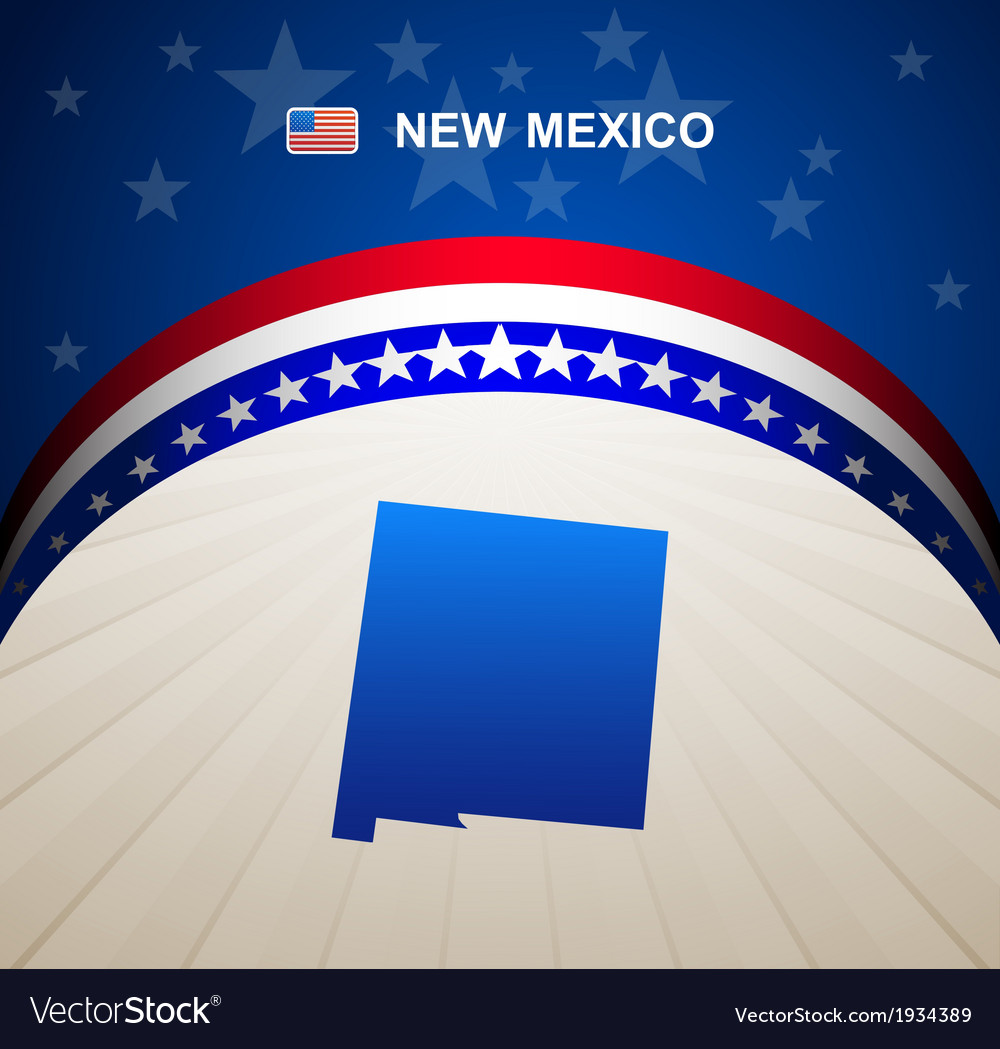 New mexico vector | Price: 1 Credit (USD $1)