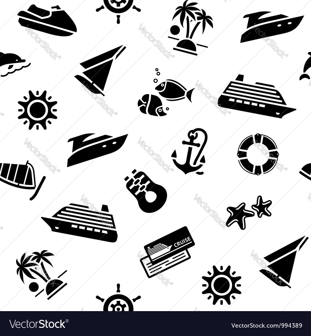 Wrapping paper - transport icons 10eps vector | Price: 1 Credit (USD $1)