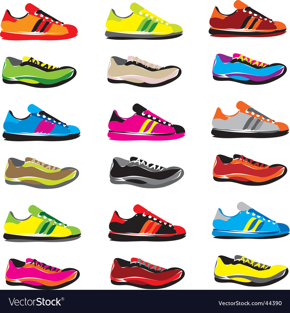 Sneakers vector | Price: 1 Credit (USD $1)