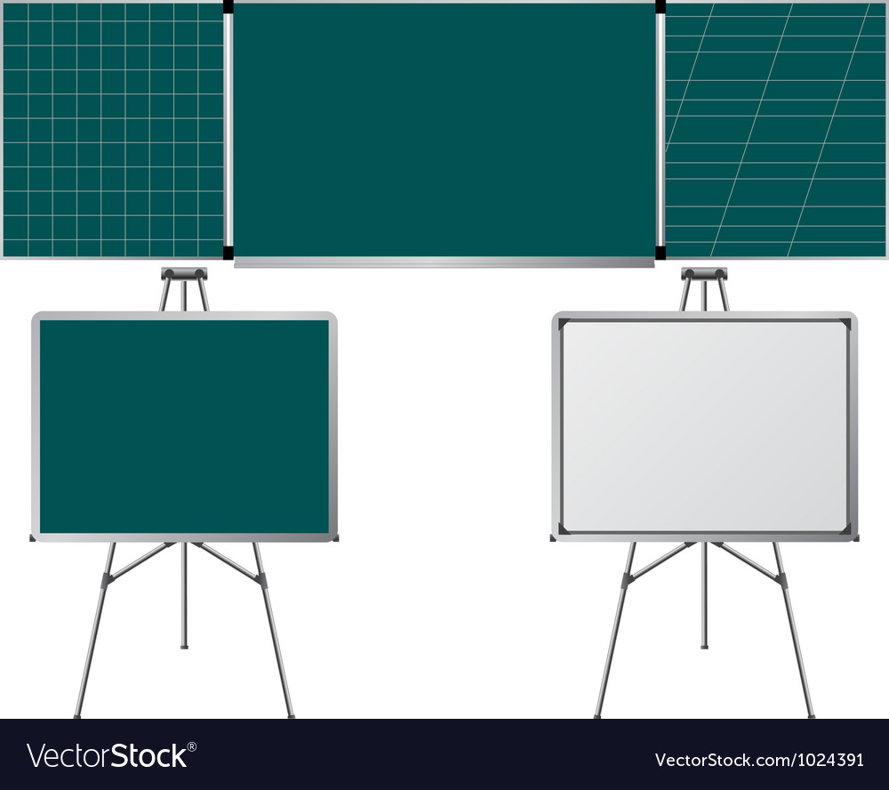 Blackboards vector | Price: 1 Credit (USD $1)