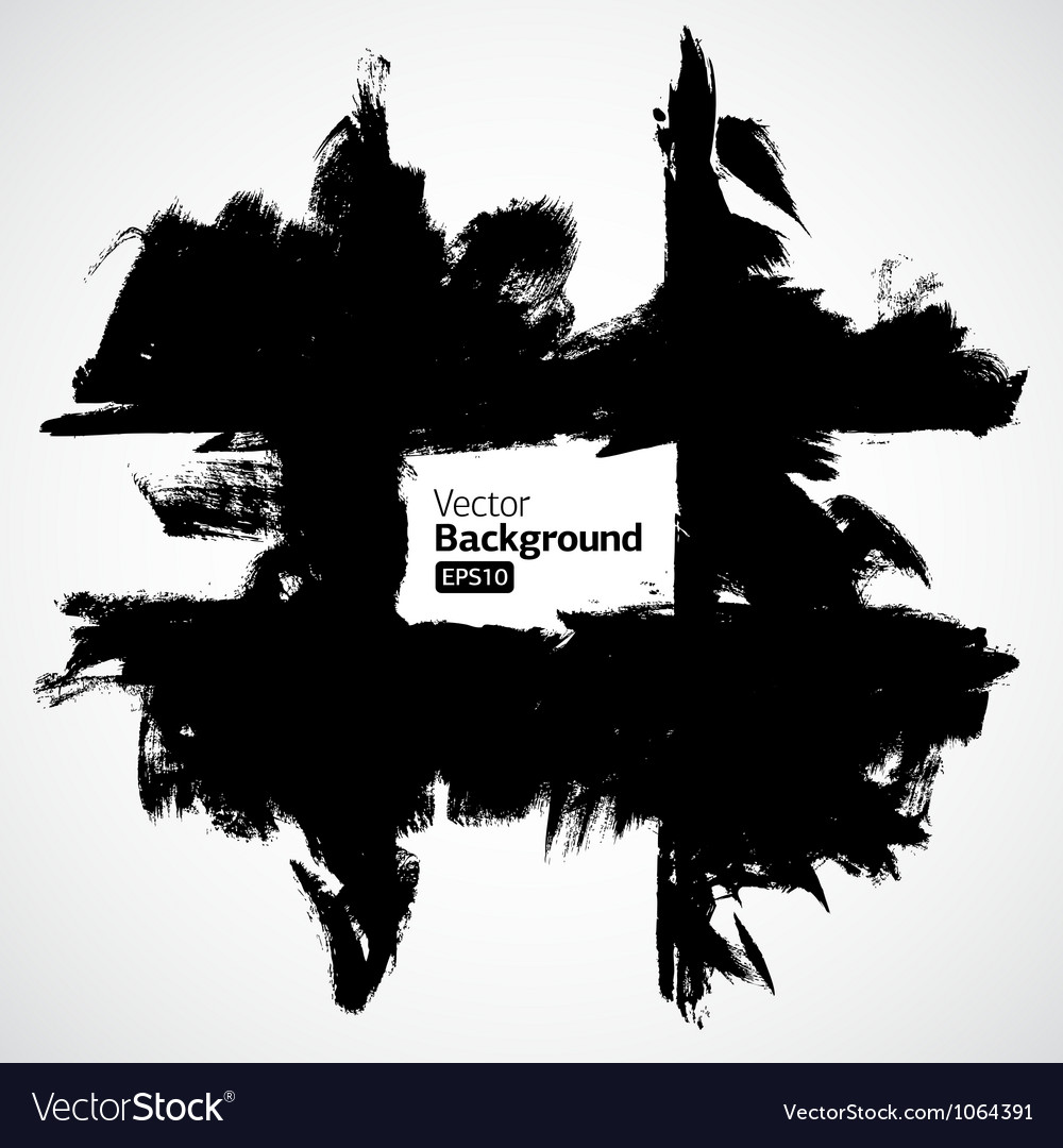 Grunge black background vector | Price: 1 Credit (USD $1)