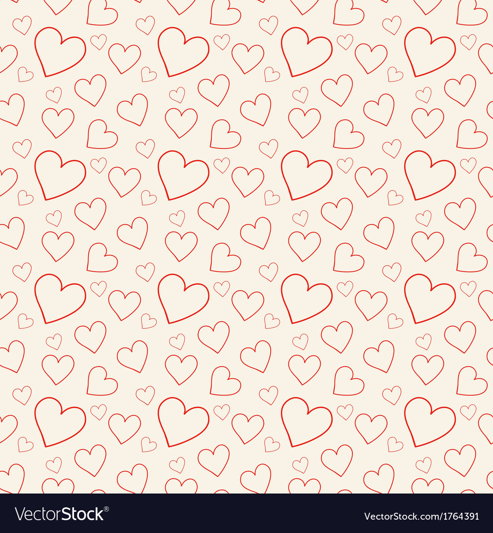 Lovely pink background with hearts vector | Price: 1 Credit (USD $1)