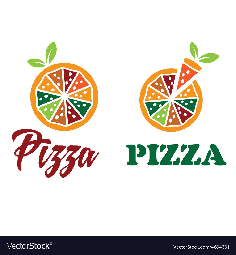 Pizza design template vector | Price: 1 Credit (USD $1)