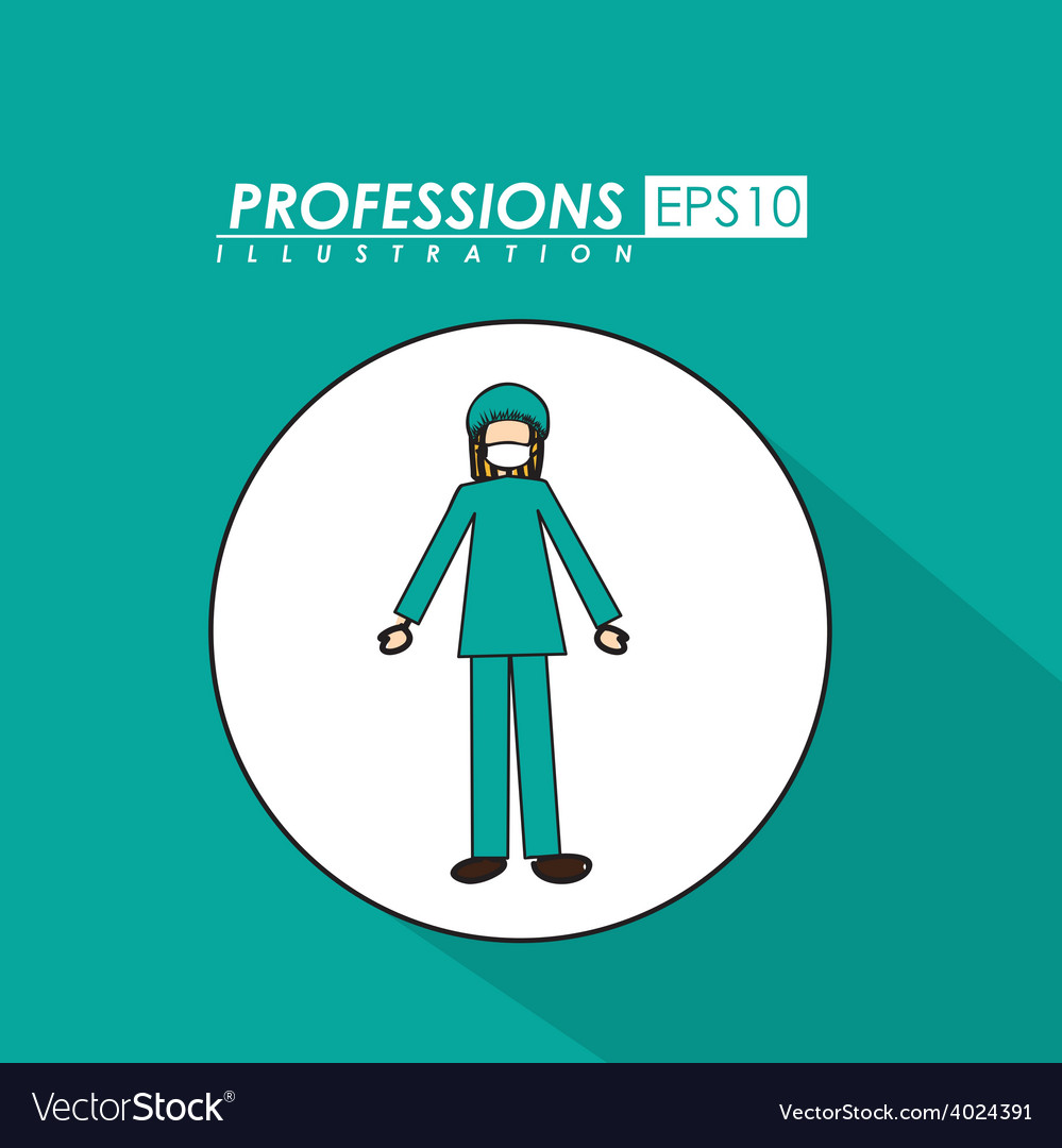 Profession desing vector | Price: 1 Credit (USD $1)