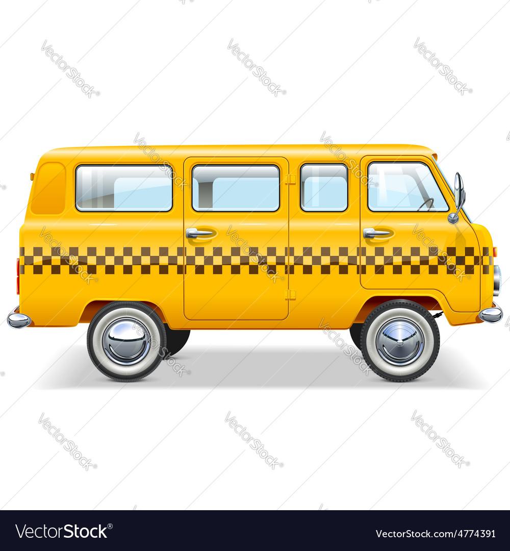 Taxi car vector | Price: 3 Credit (USD $3)